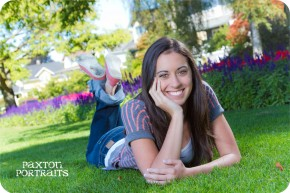 Senior Pictures at Grand Avenue Park in Everett, Washington : Paxton Portraits