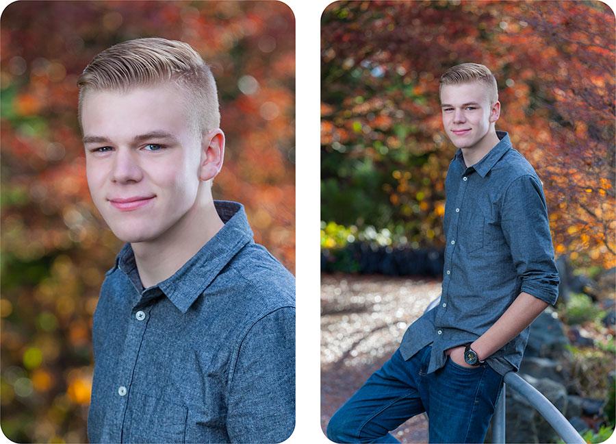 Senior Portrait Photographers in Everett, Washington