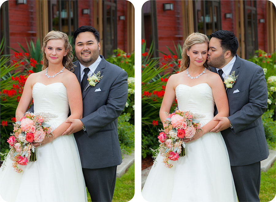 Wedding Photography in Mukilteo at Rosehill Community Center