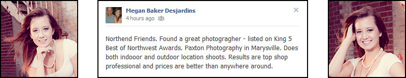 Review of Paxton Portraits Photography