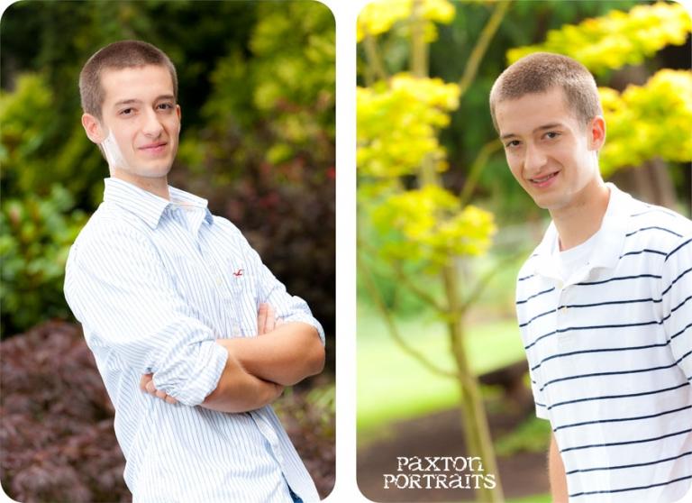 Senior Portraits for Boys in Everett, Washington