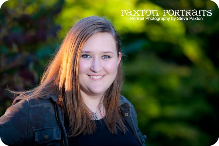 Senior Portraits at the Bellevue Botanical Garden - Steve Paxton