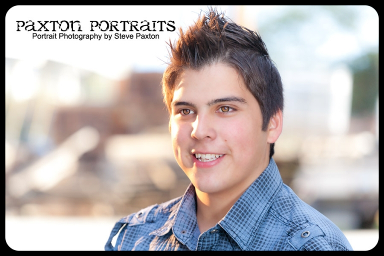 Senior Portraits in Downtown Everett - Paxton Portraits Photography