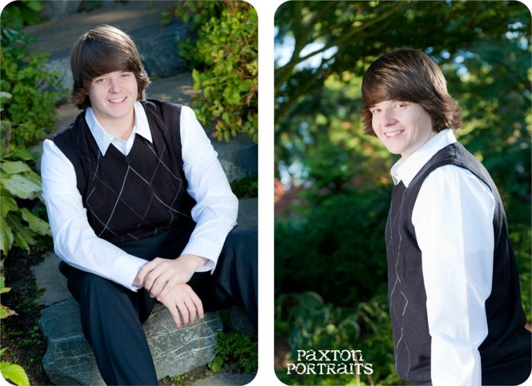 Senior Portraits in Everett - Paxton Portraits