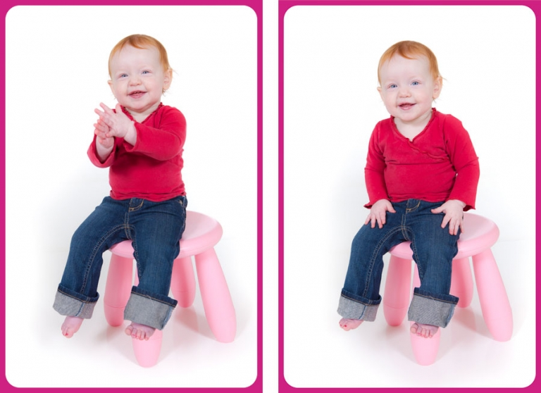 Paxton Portraits Baby Photography - One Year Pictures