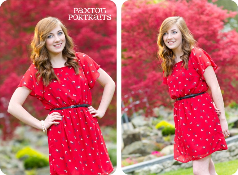 Marysville, Washington Senior Rep : Paxton Portraits