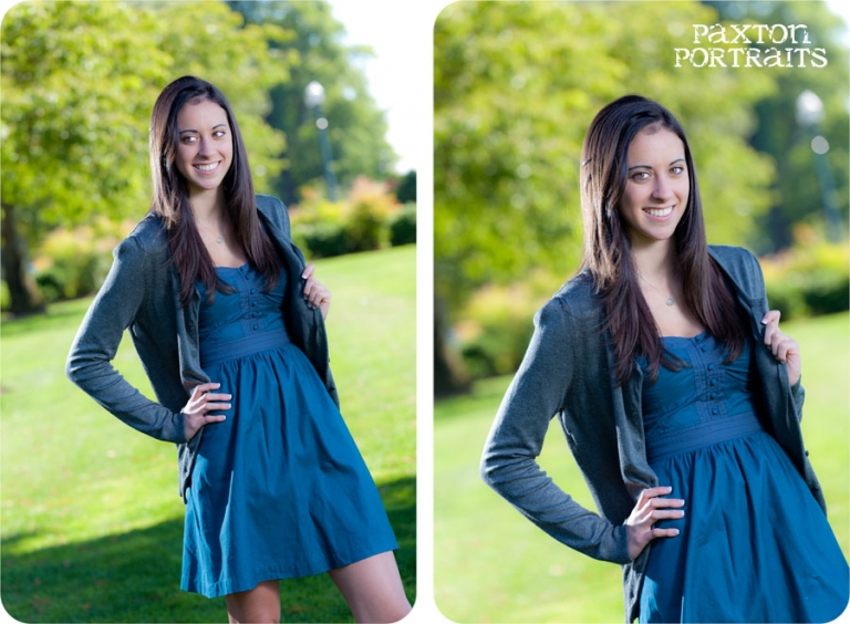 Senior Pictures at Grand Avenue Park in Everett, Washington : Paxton Portraits