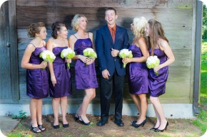 Senior Portraits with Wedding Bridesmaids in Marysville, WA