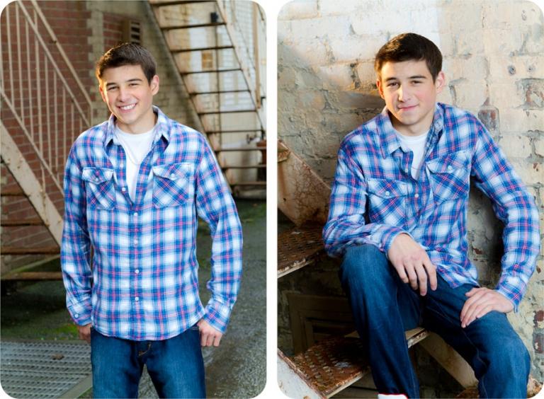Senior Portraits in the City - Everett, Washington