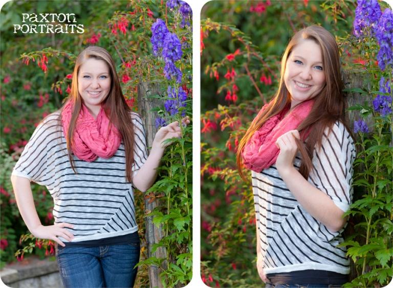 Senior Portraits in the Fall in Marysville, Washington