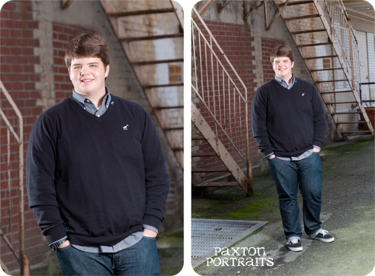 Senior Portraits for Guys in Everett, Washington