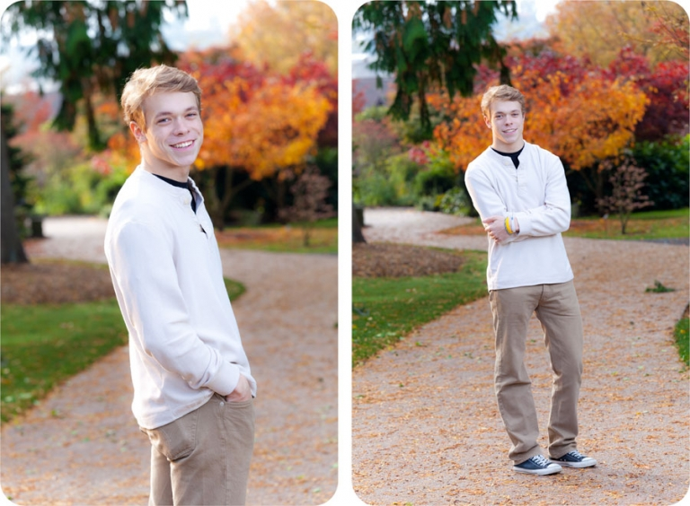 Fall Senior Portraits in Everett, Washington : Paxton Portraits