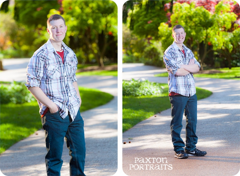 Senior Pictures for Guys in Everett, WA