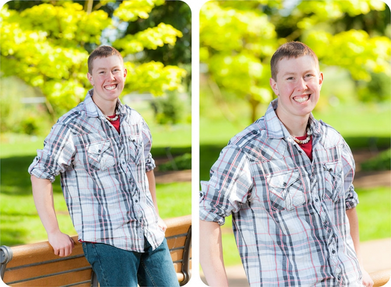 High School Senior Portraits in Everett
