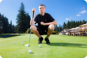 Senior Pictures at Everett Golf and Country Club