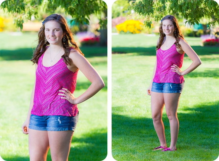 Senior Pictures for Girls in Everett, Washington