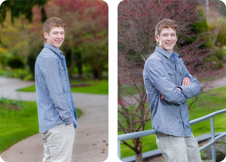 High School Senior Portrait Studios in Everett