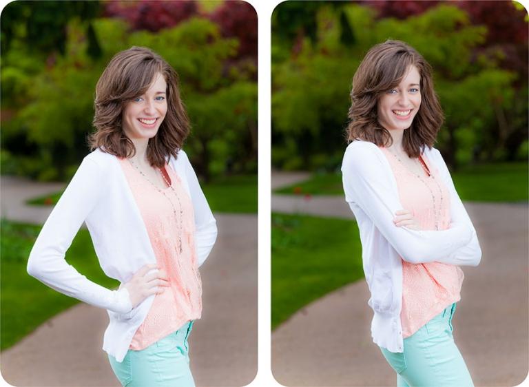 Senior Pictures for Girls in Everett, Washington