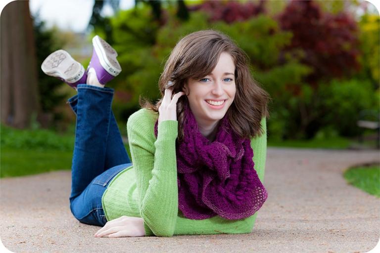Senior Portraits for Girls in Everett, Washington