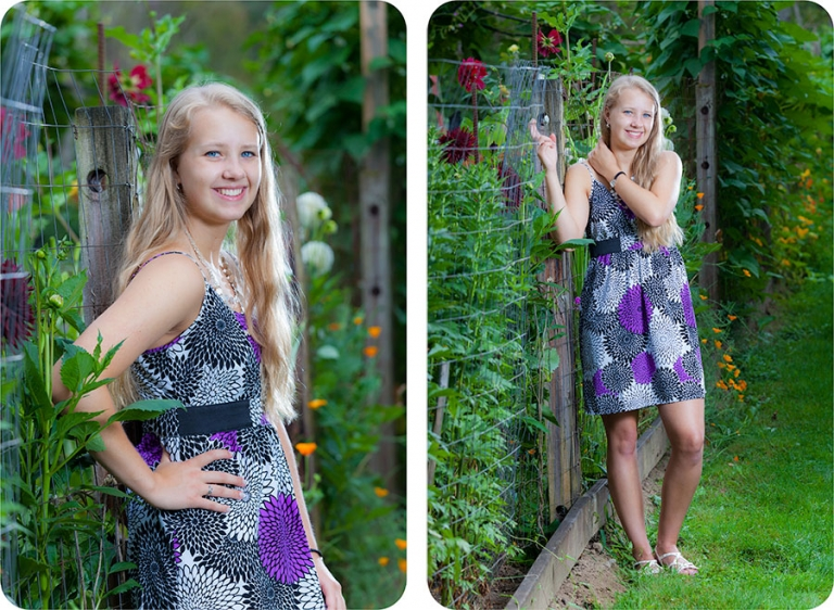 High School Senior Pictures for Girls in Marysville
