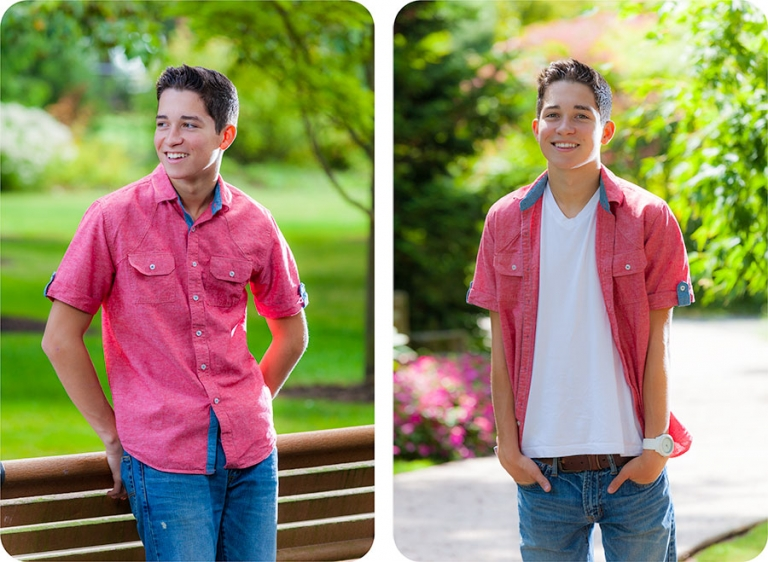 Senior Pictures in Everett, Washington