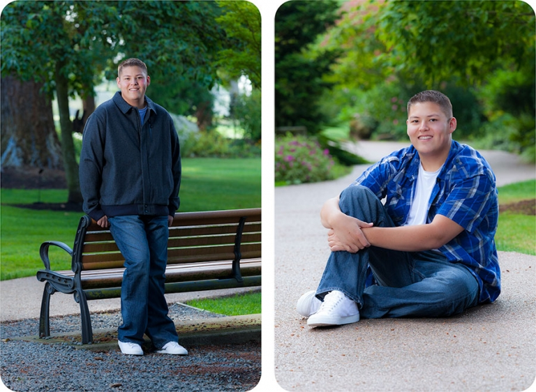 Senior Portraits for Guys in Everett, WA