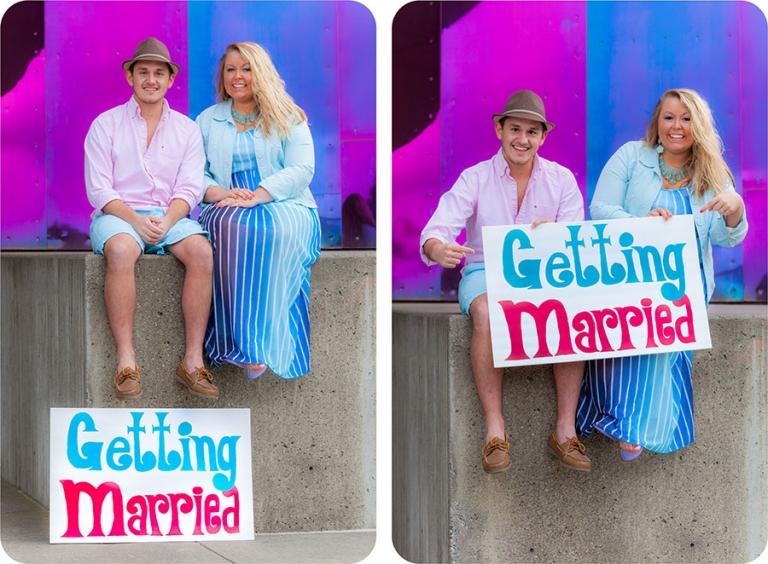 Engagement Photos at Downtown Seattle, Washington