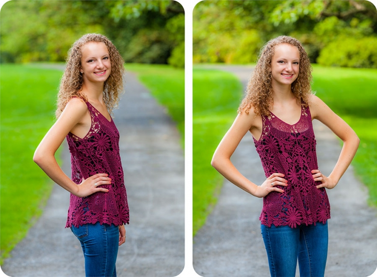 Senior Pictures for Girls in Seattle, Washington