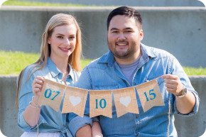Engagement and Wedding Pictures at Rose Hill Community Center in Mukilteo
