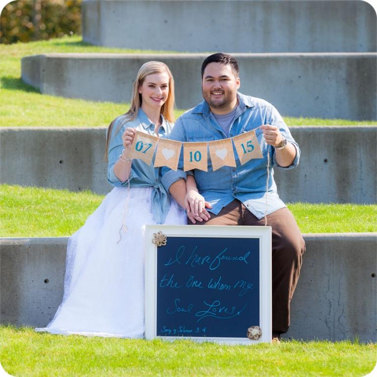 Wedding Engagement Pictures in Mukilteo, Washington