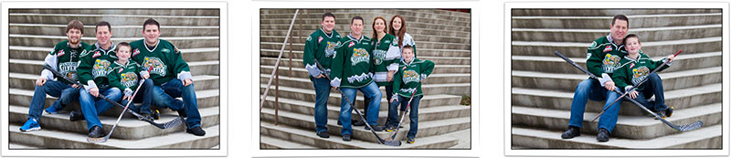 Family Portraits in Everett and Marysville, Washington